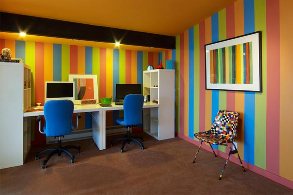 COLOURFUL OFFICE