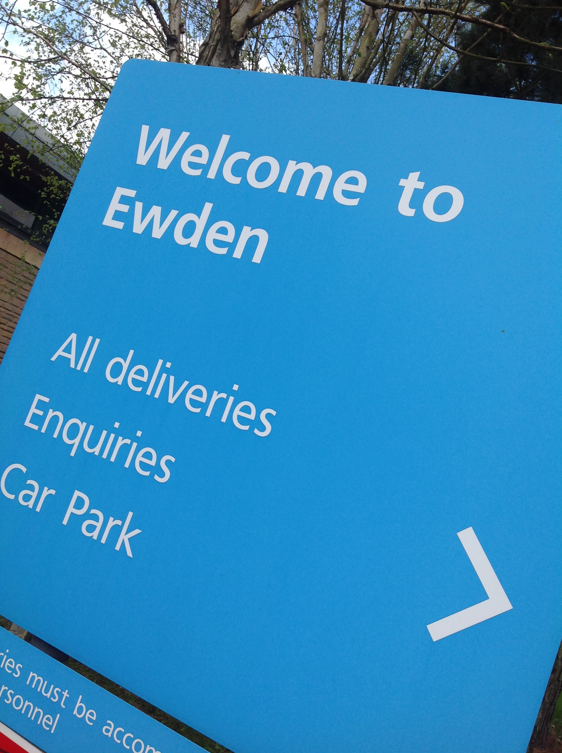 Ewden sign